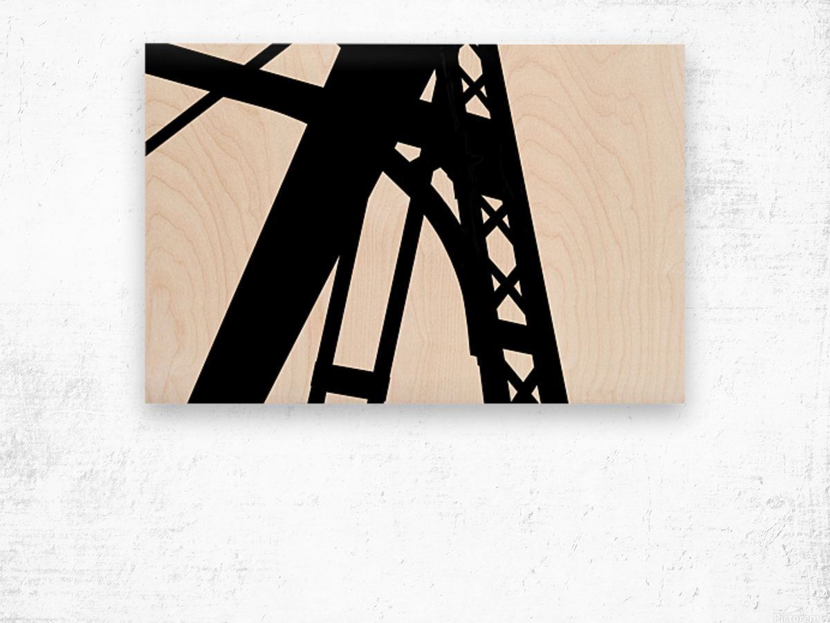 Bridge - XXVI Wood print