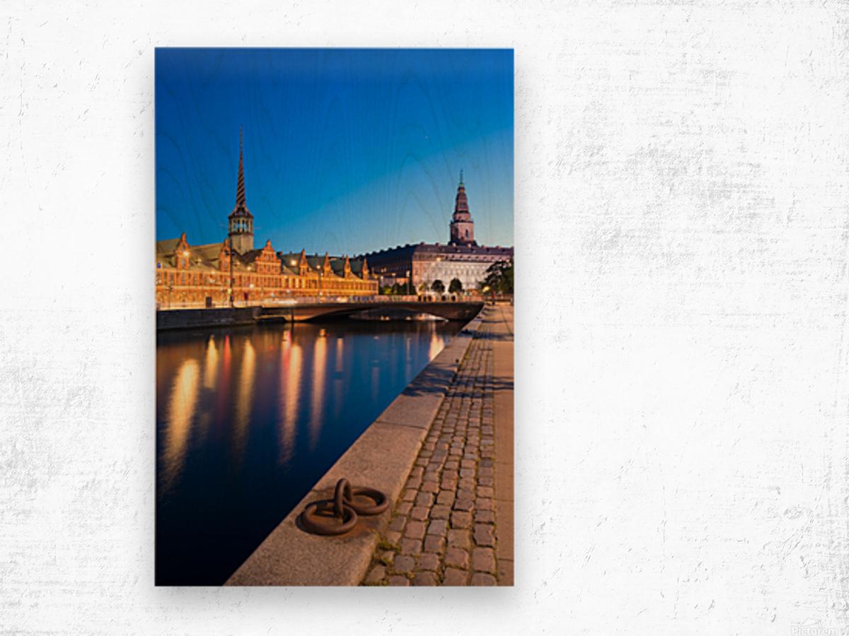COPENHAGEN 04 Wood print