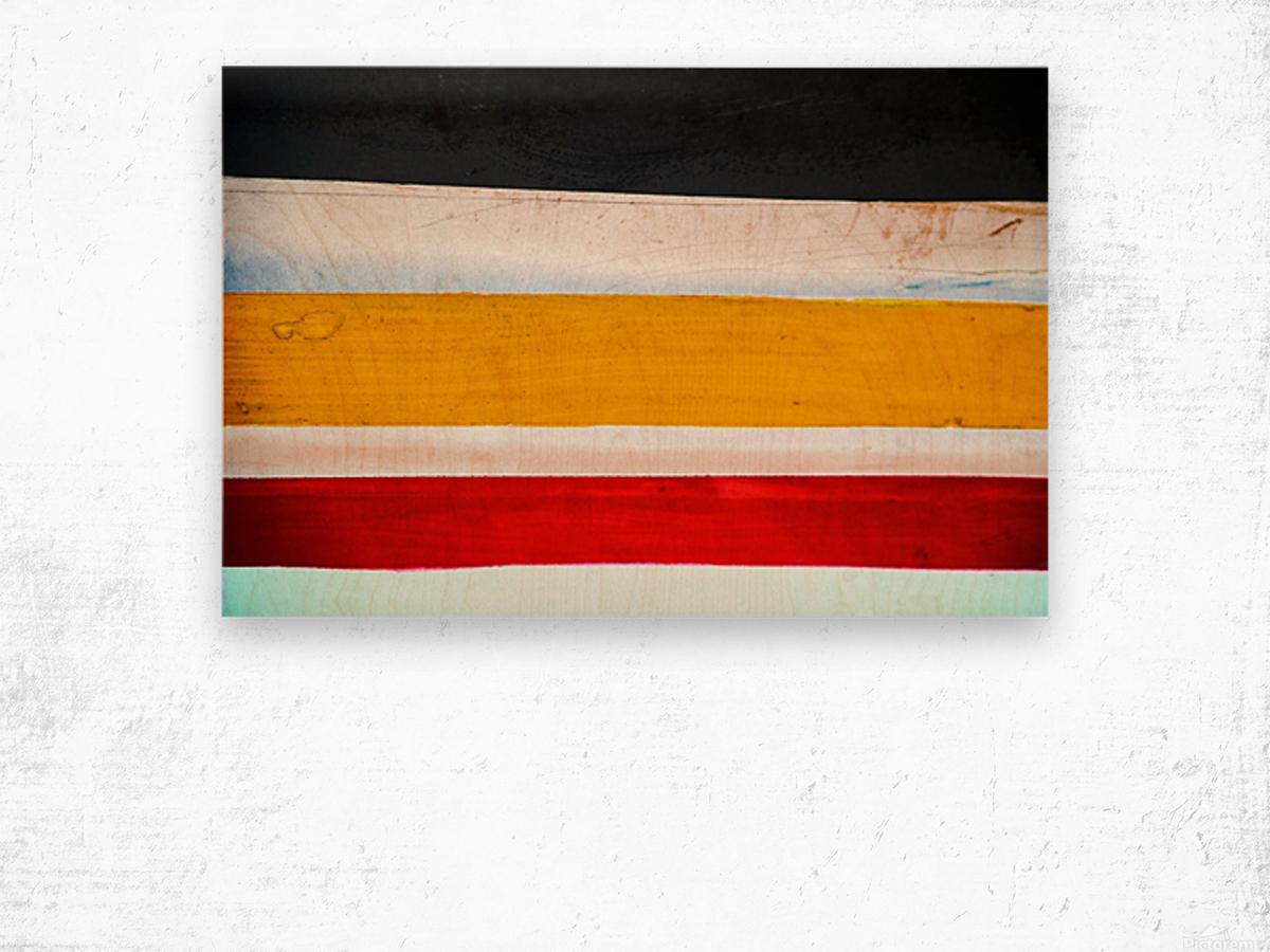 Boat - LXXVI Wood print