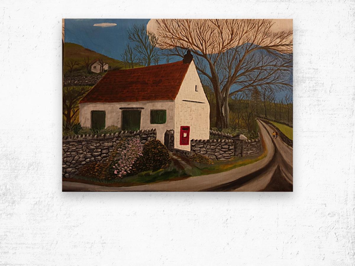Millbeck Post office Wood print