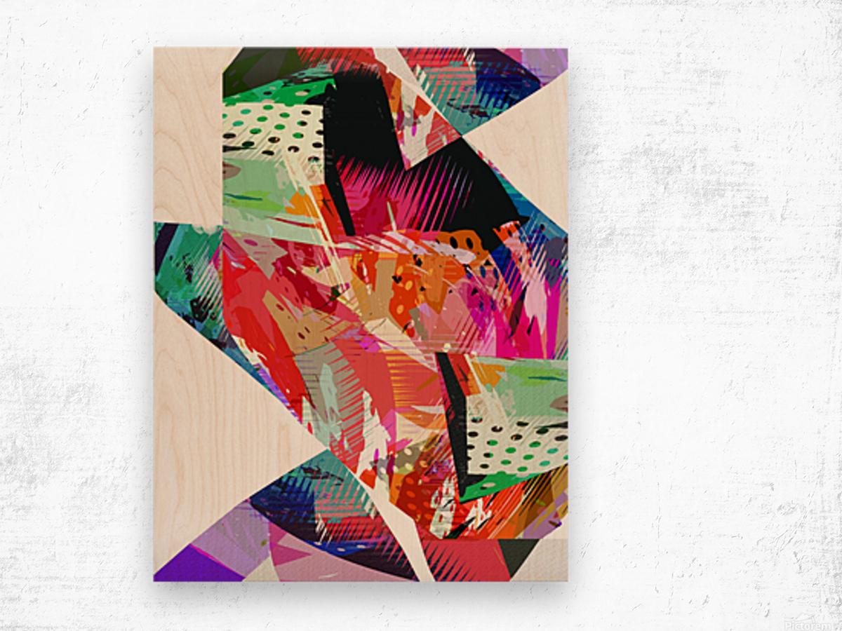 sava Wood print