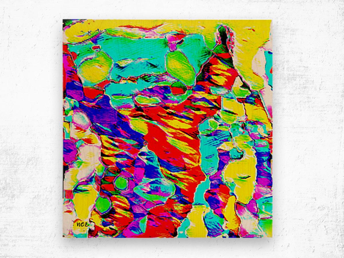 Awake at 2 AM Wood print