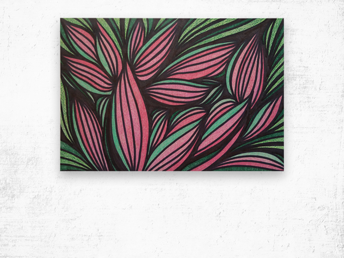 Mazeri  Wood print
