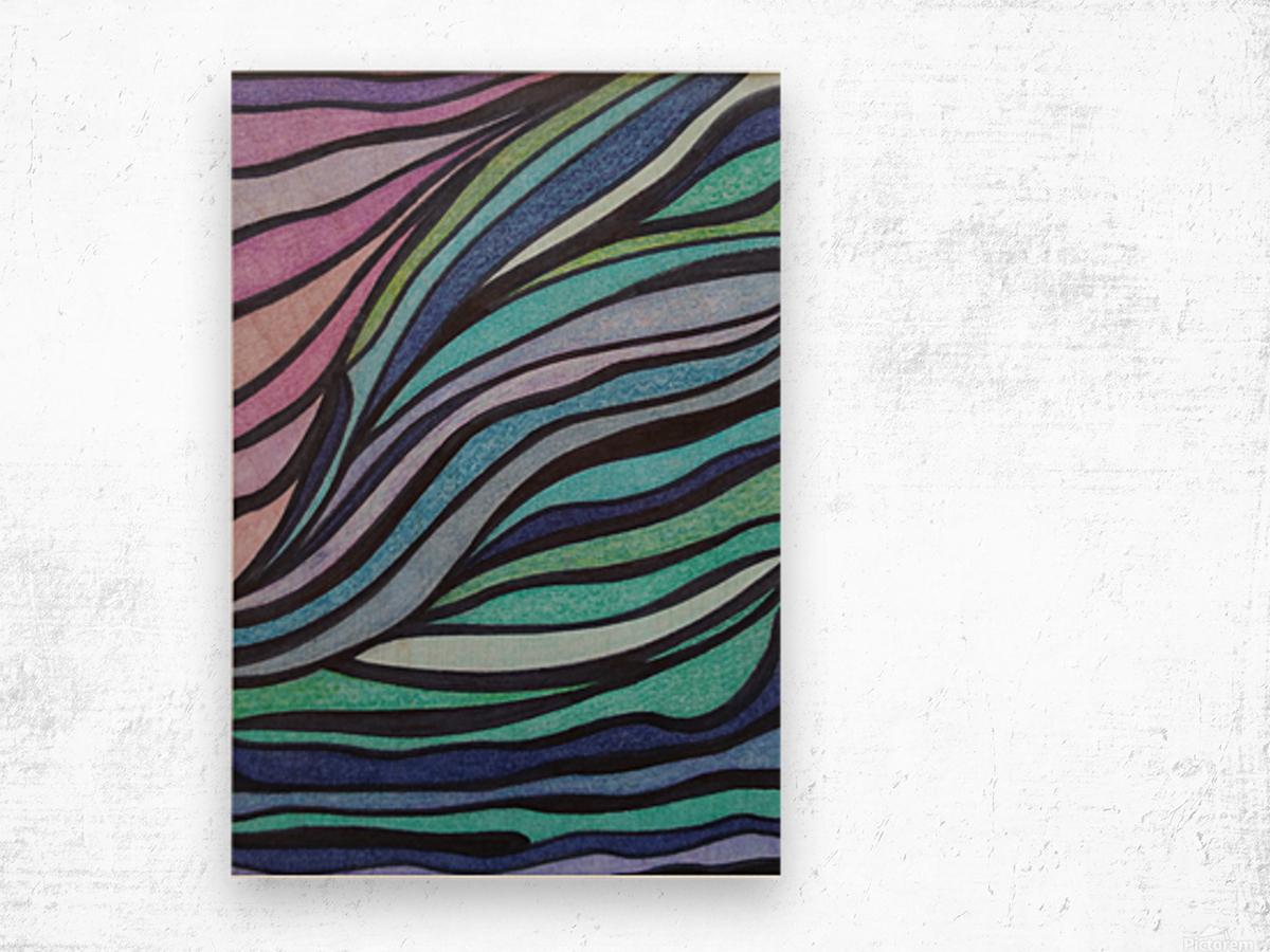 Lone Tide  Wood print