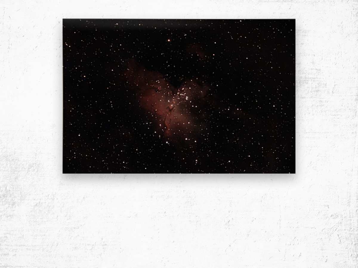 Eagle Nebula Wood print