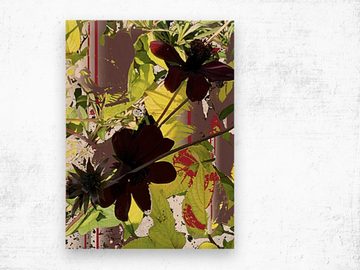 Mixed Floral Arrangement 200719 Wood print