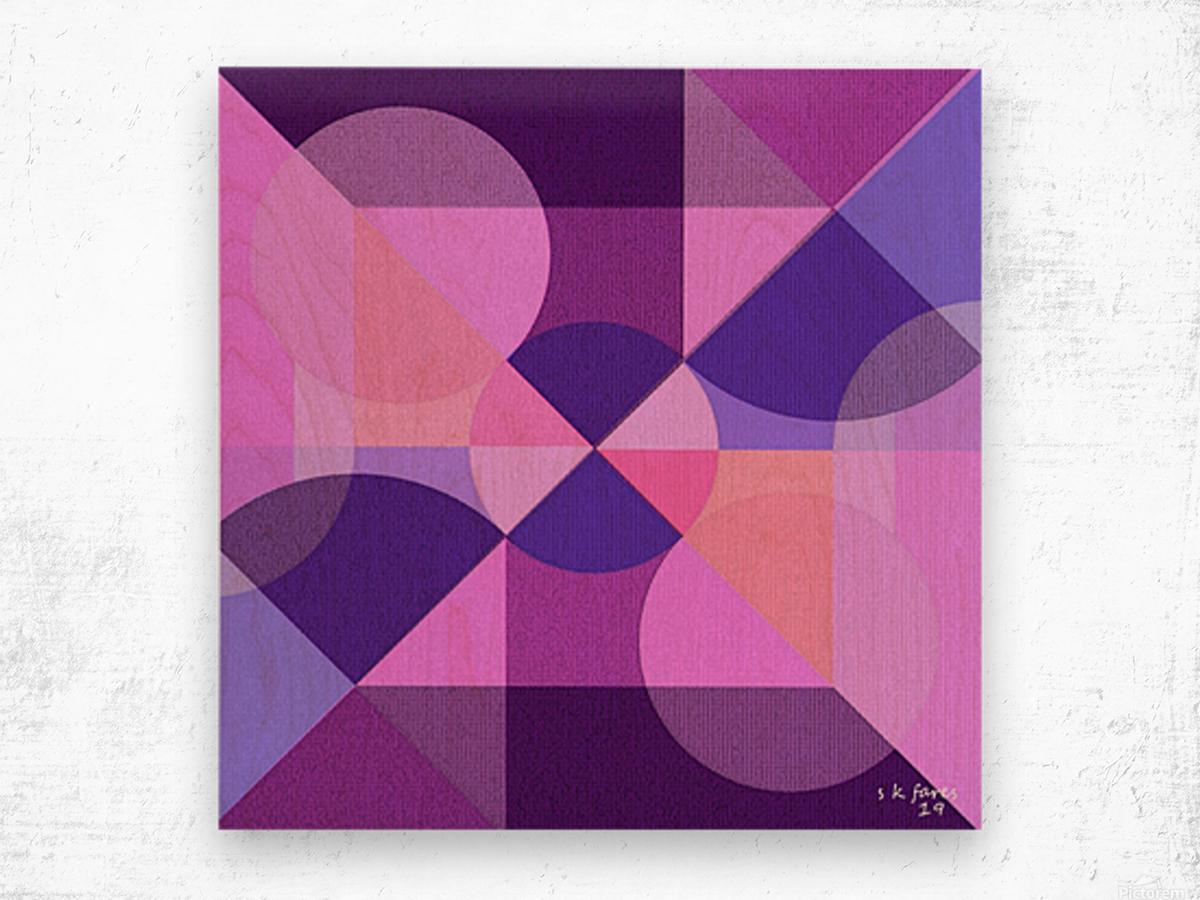 art abstra03 Wood print