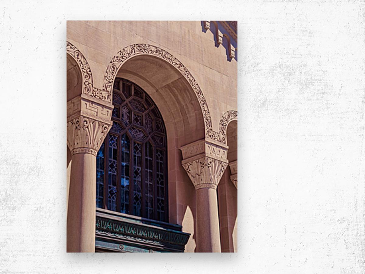 Foster Memorial Window Wood print