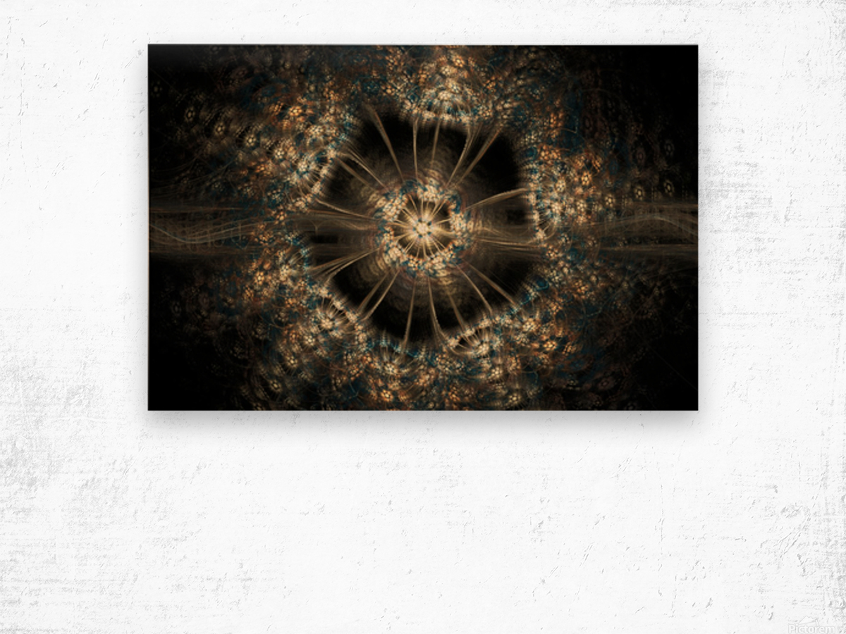 Blink Wood print