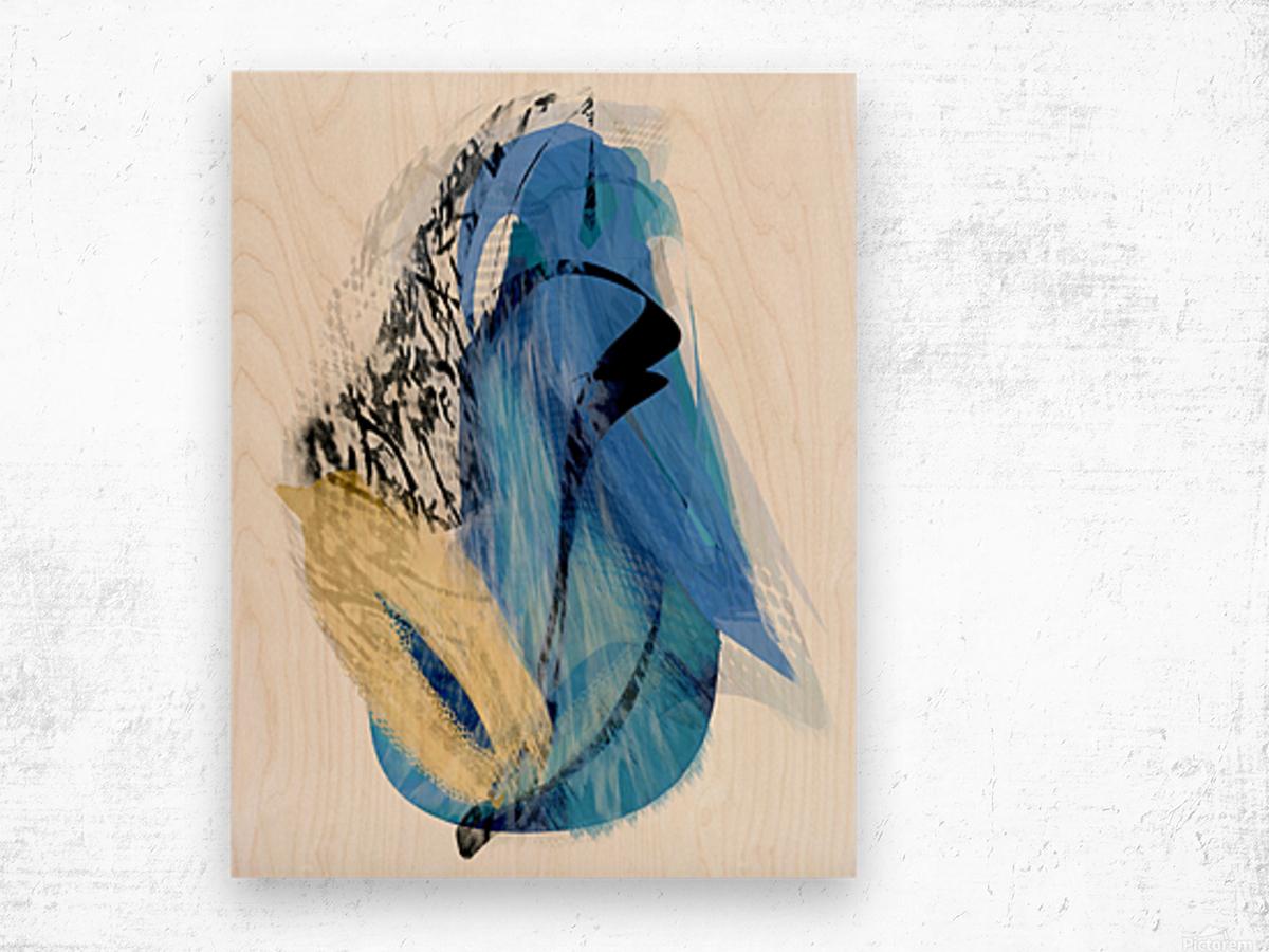 A S T A Wood print