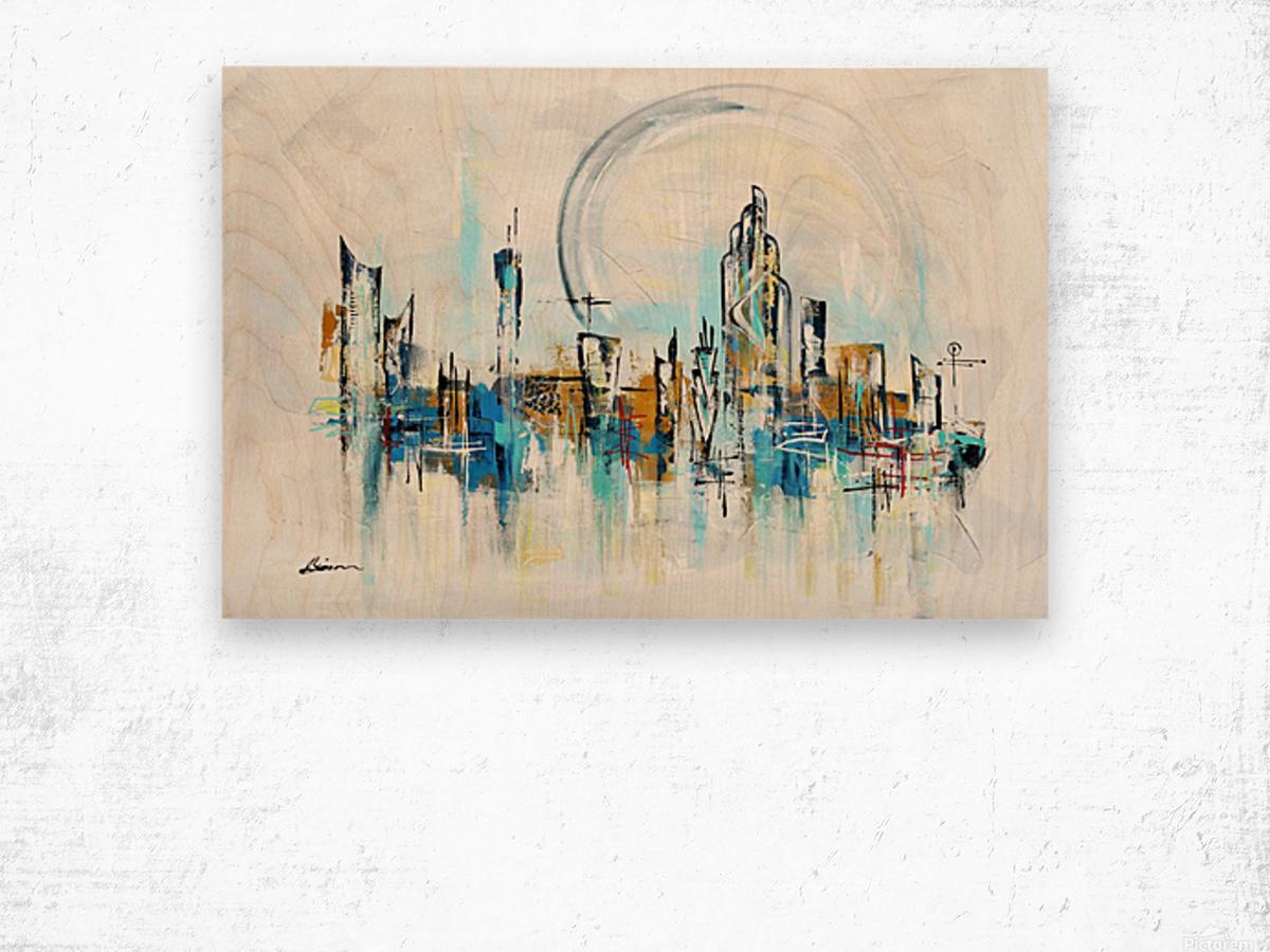 Uptown XXVI Wood print