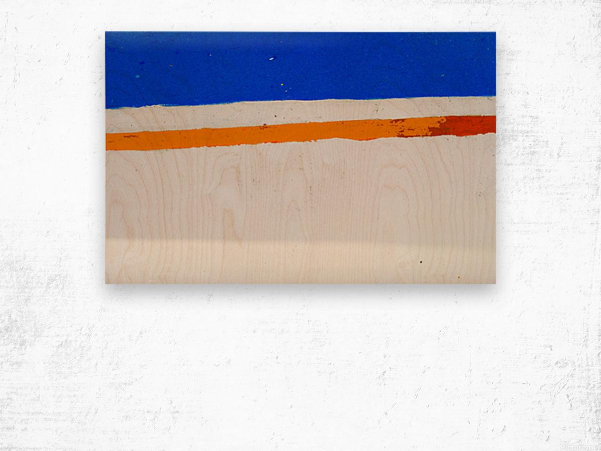 Boat -  XCV Wood print