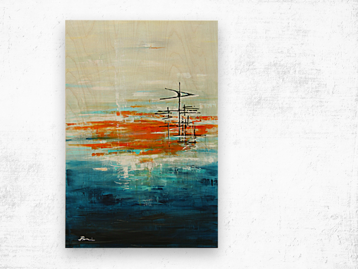High Tide III Wood print