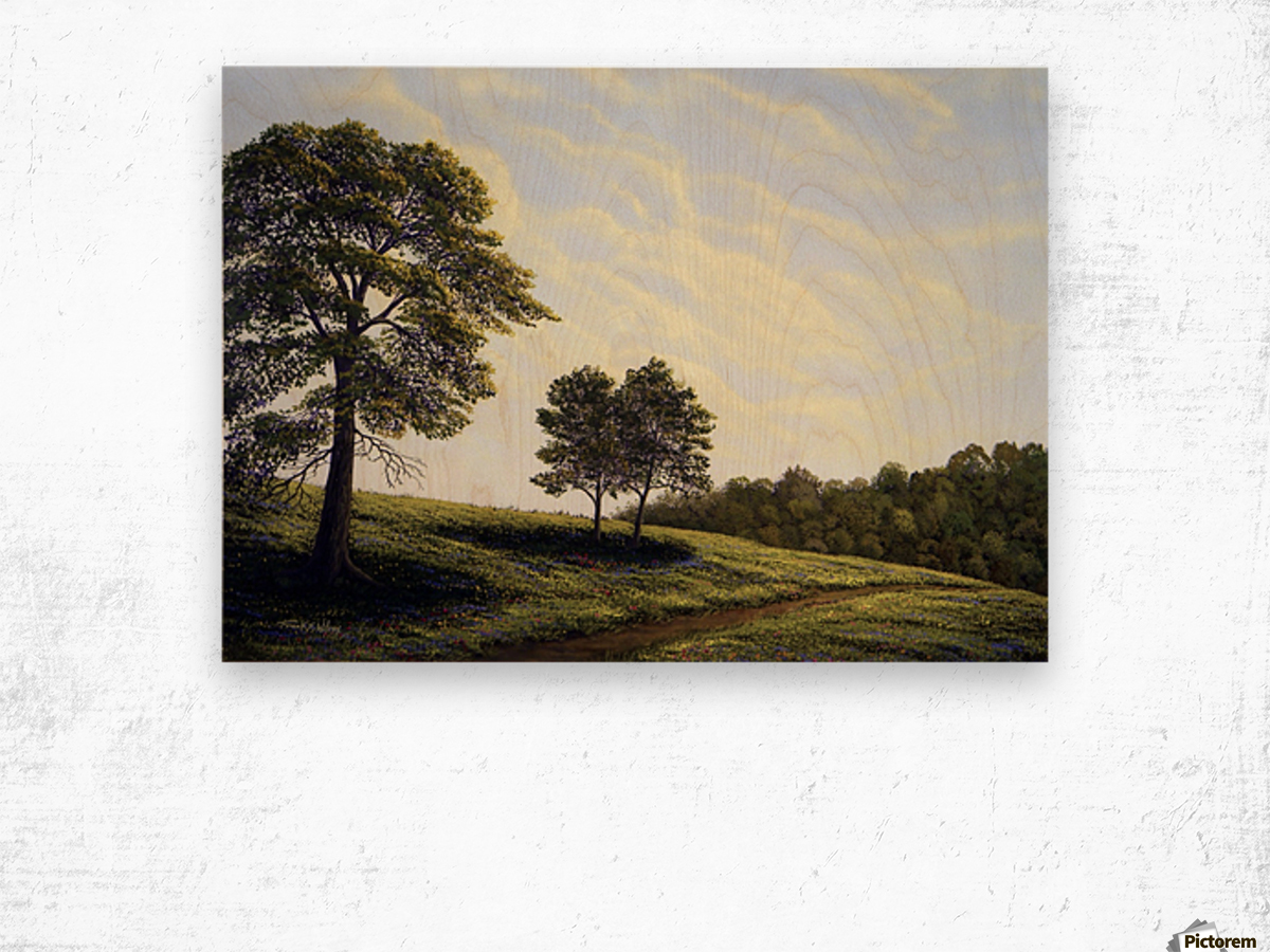 April Afternoon Wood print