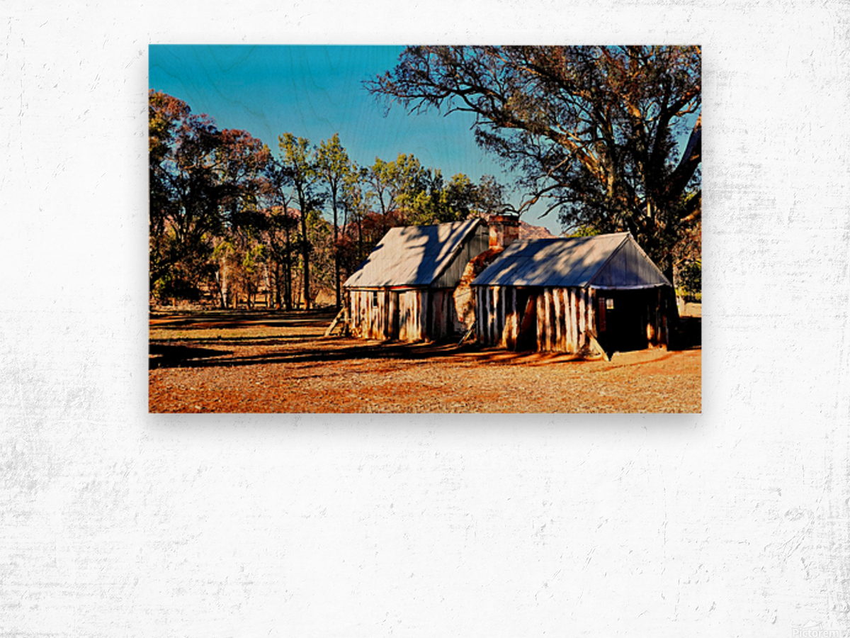 Old Wilpena Station  Wood print