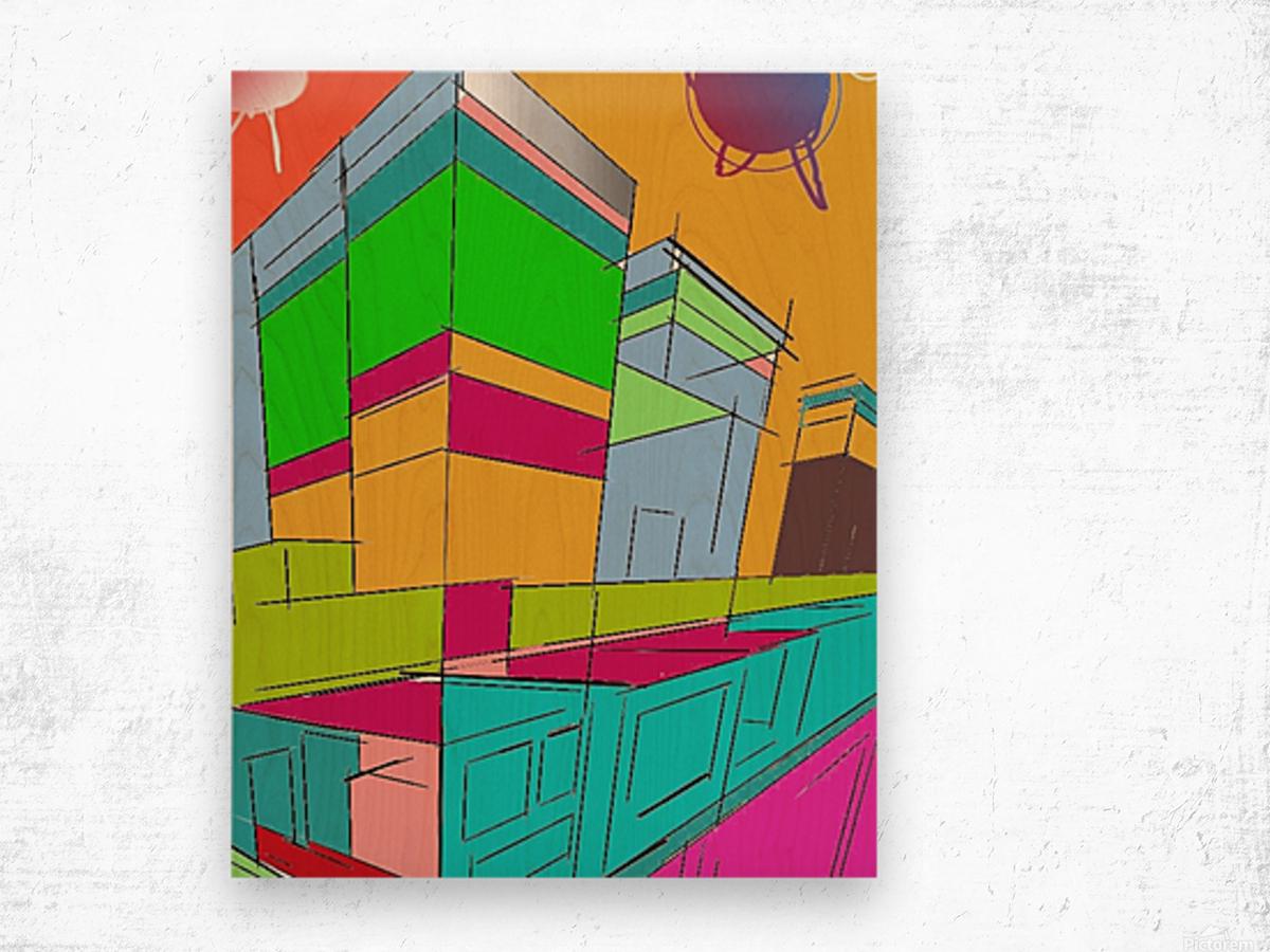 498 Wood print