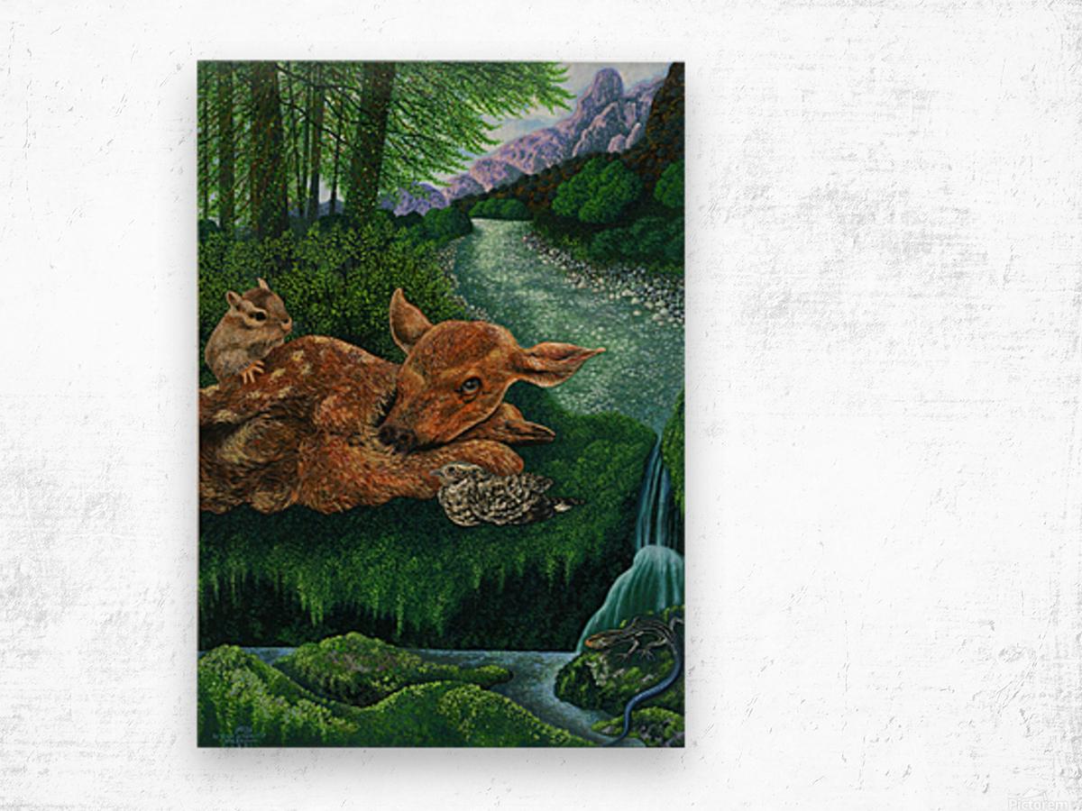 1991 05 Wood print
