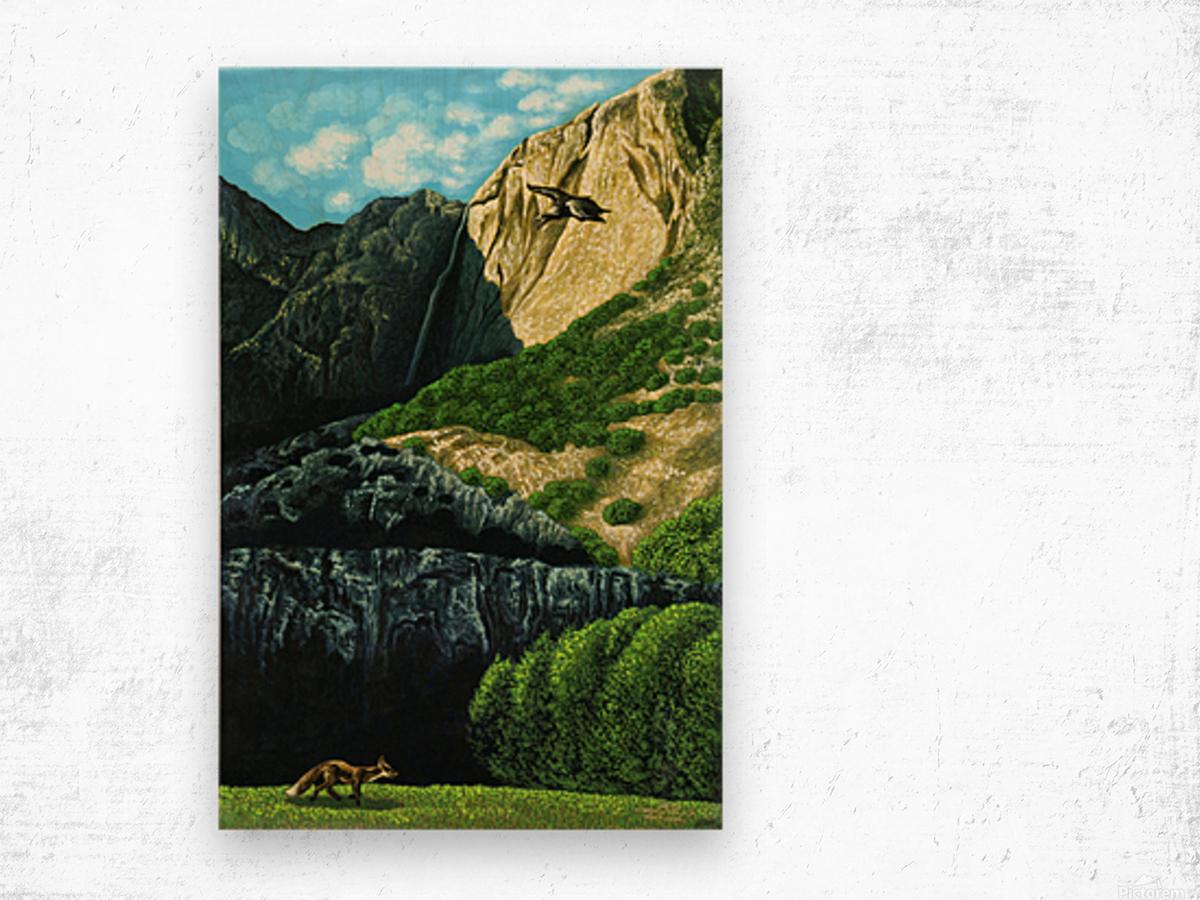 1988 010 Wood print