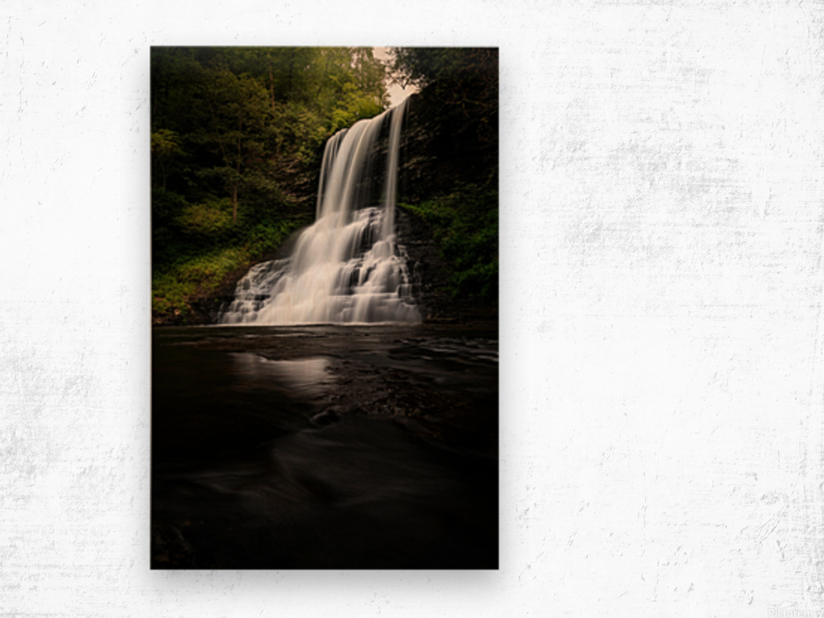 Capturing the Cascade Wood print