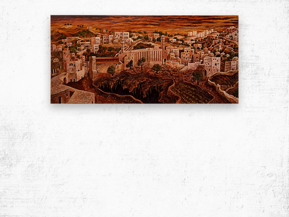 1976 024 Wood print