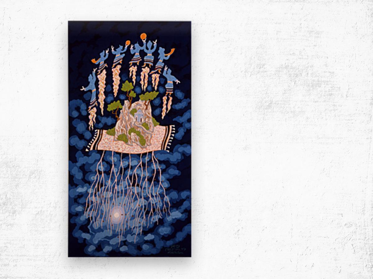 1990 032 Wood print