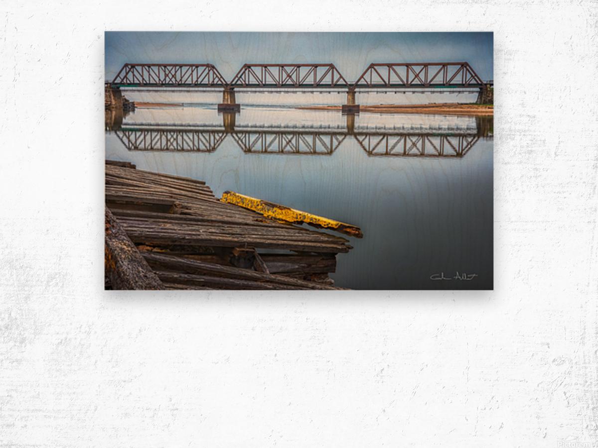 Double pont Impression sur bois