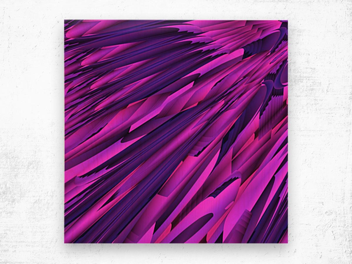 A.P.Polo - Cyberspace Wood print