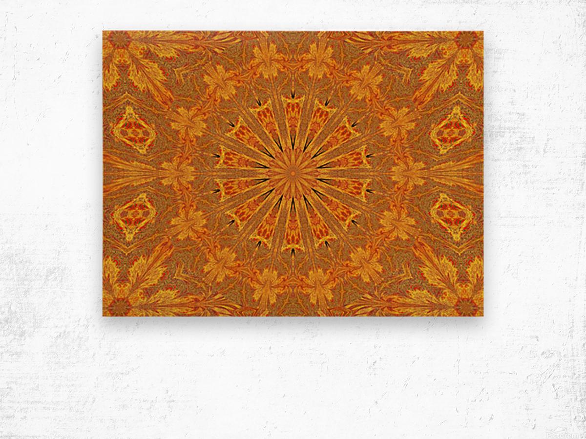 Sunshine In The Meadow Wildflower 1 Wood print