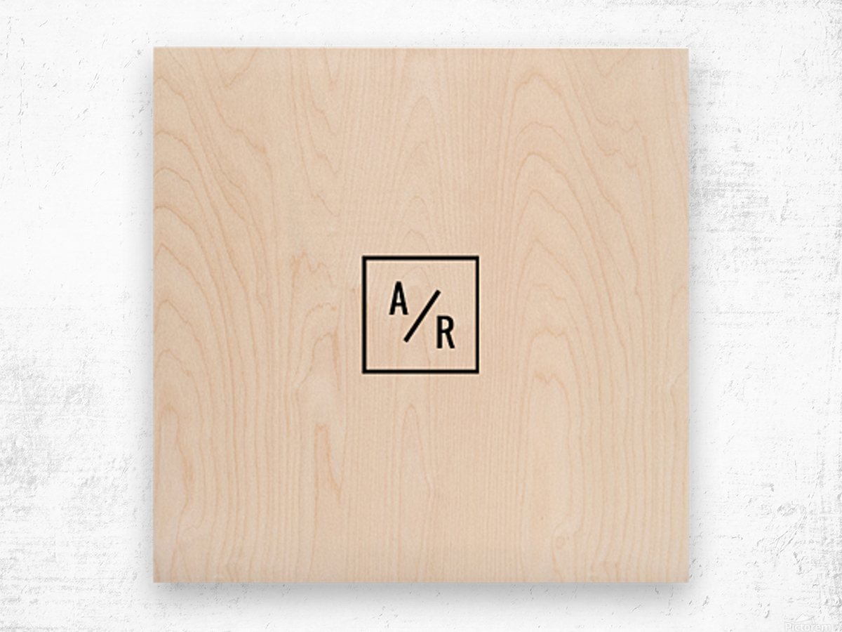 ARSquare 1  Wood print