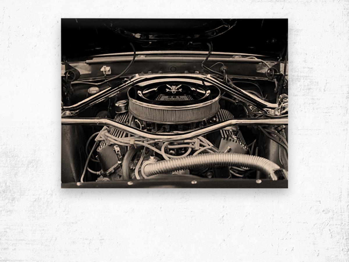 351 Mustang Wood print