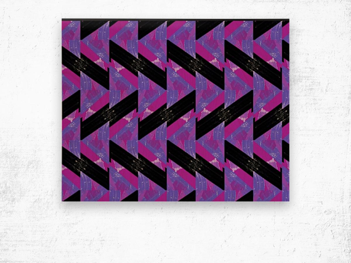 Determine Wood print