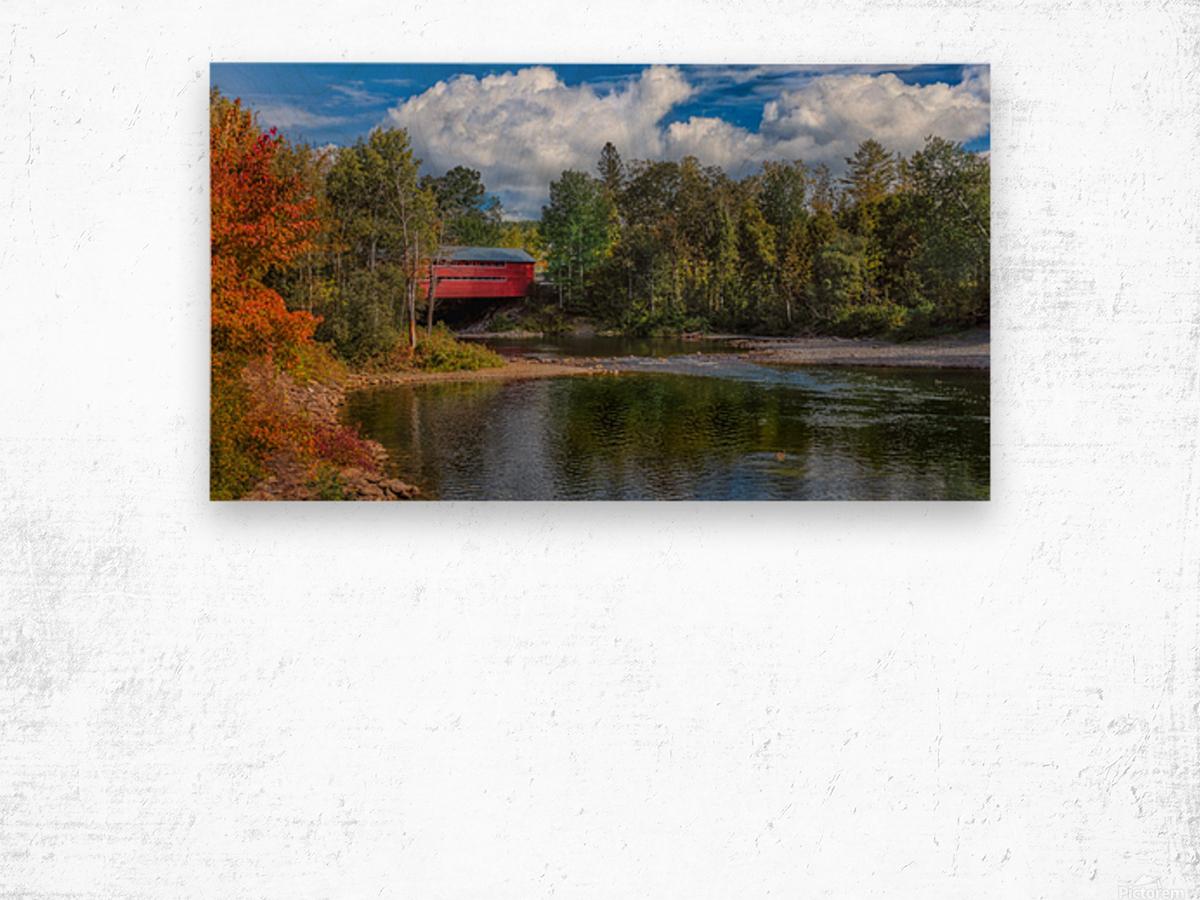Amqui Pont Beausejour 2 Impression sur bois