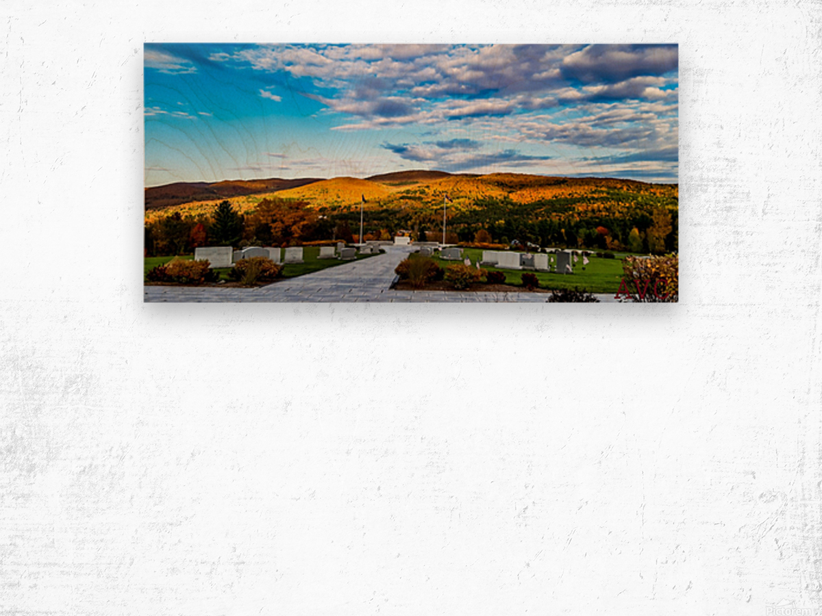 Autumn from the Mountain Wood print