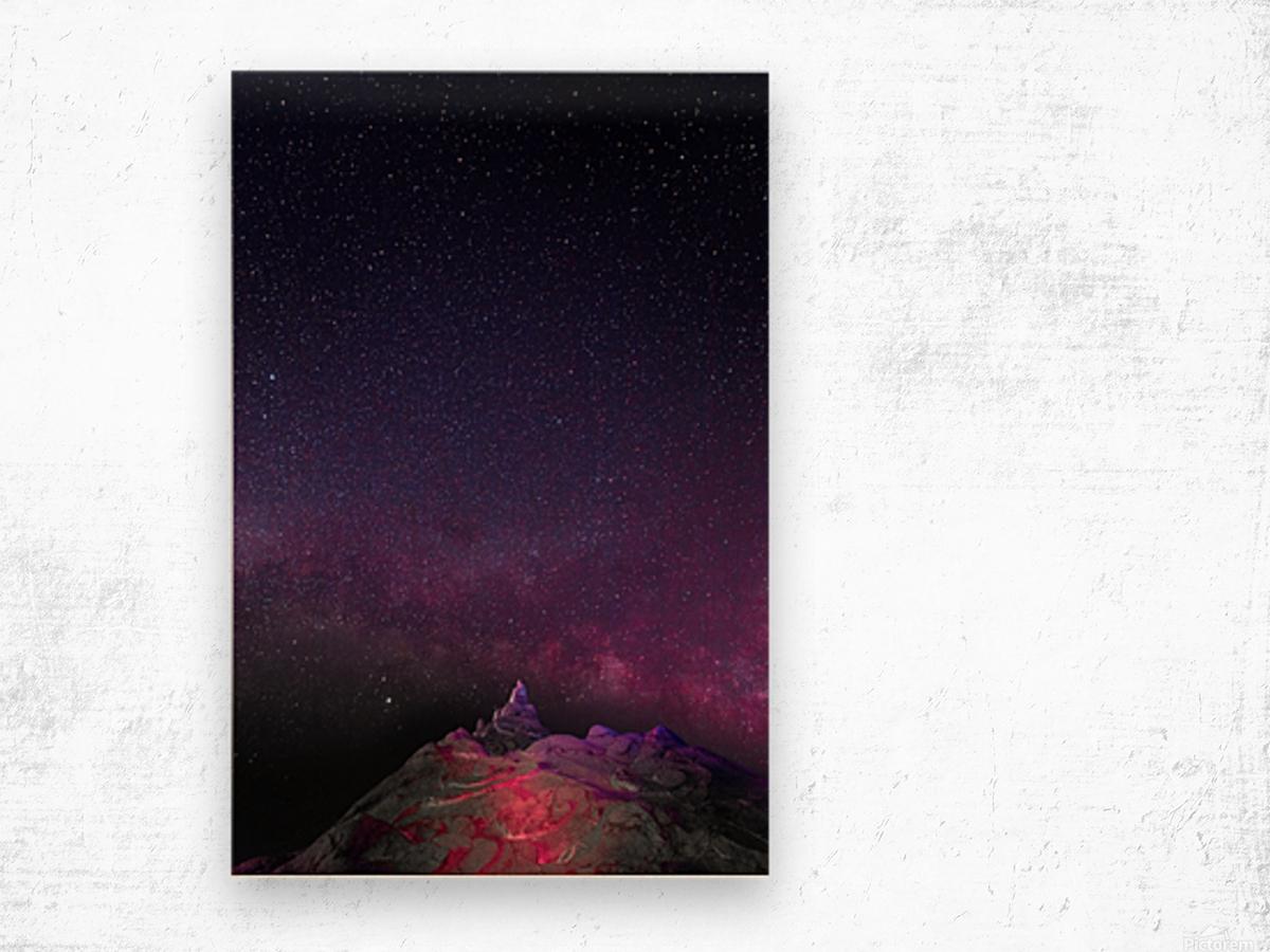 Light Wood print
