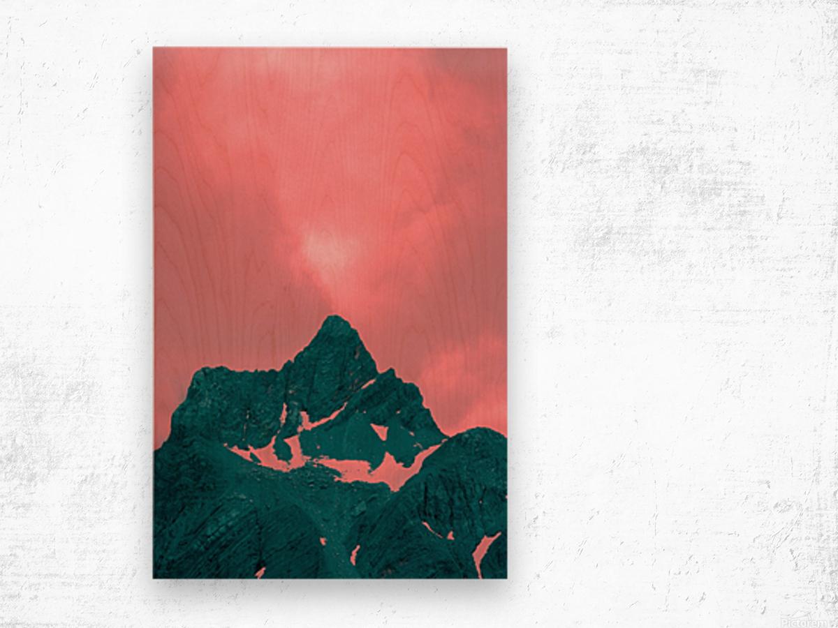 Firn Wood print