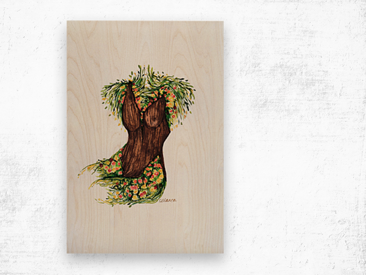 BeautyWithin Wood print