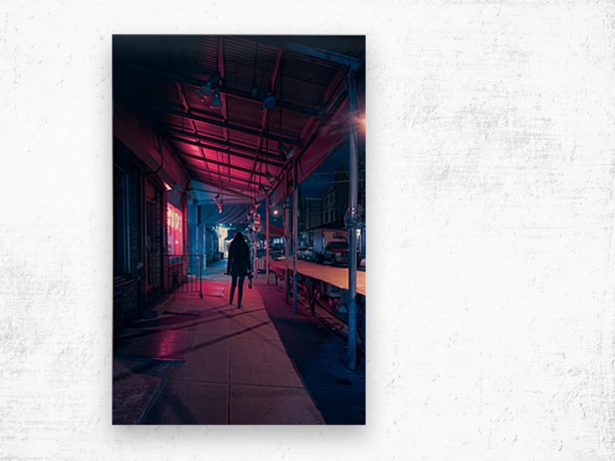 3AM Wood print