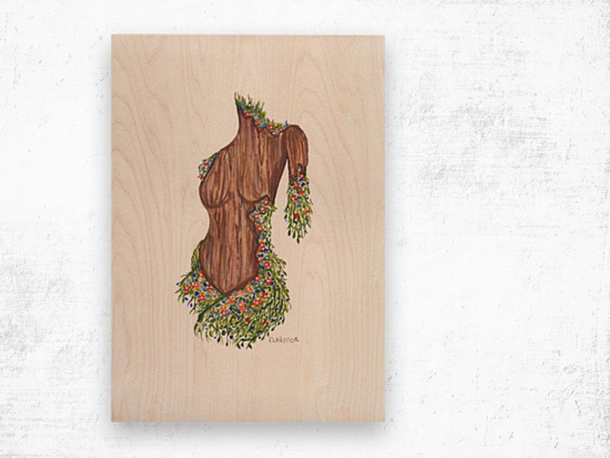 Brandy-Beauty Within Wood print