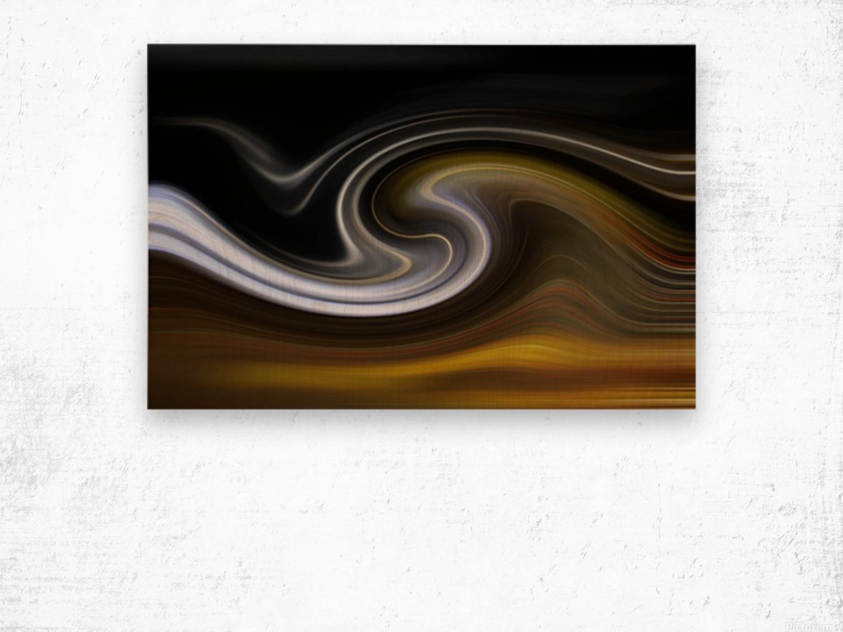 LAVAWAVE Wood print