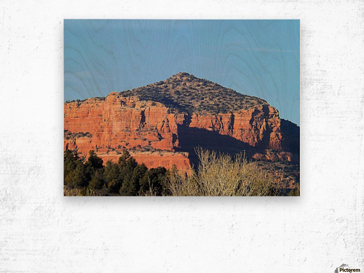 More Red Rocks Impression sur bois