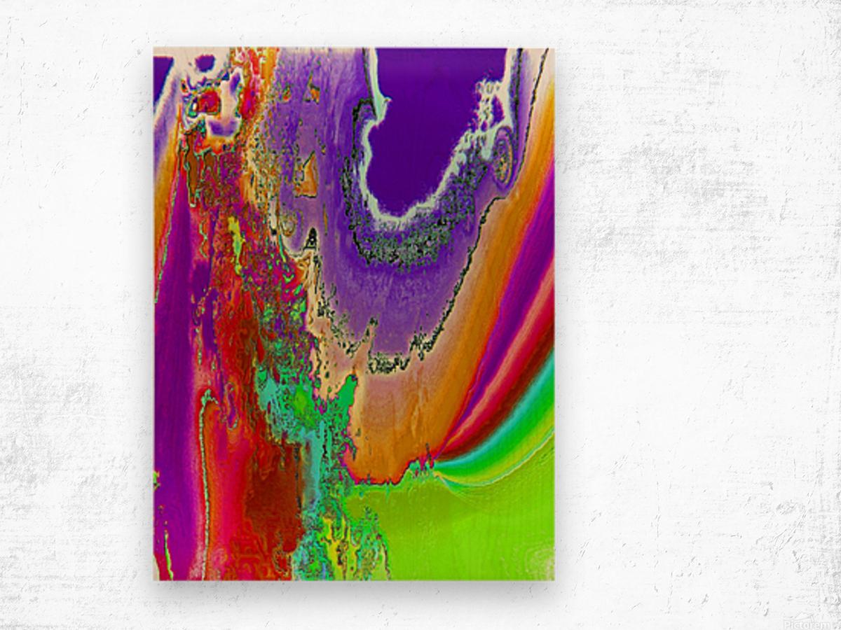 Sacred colors Wood print