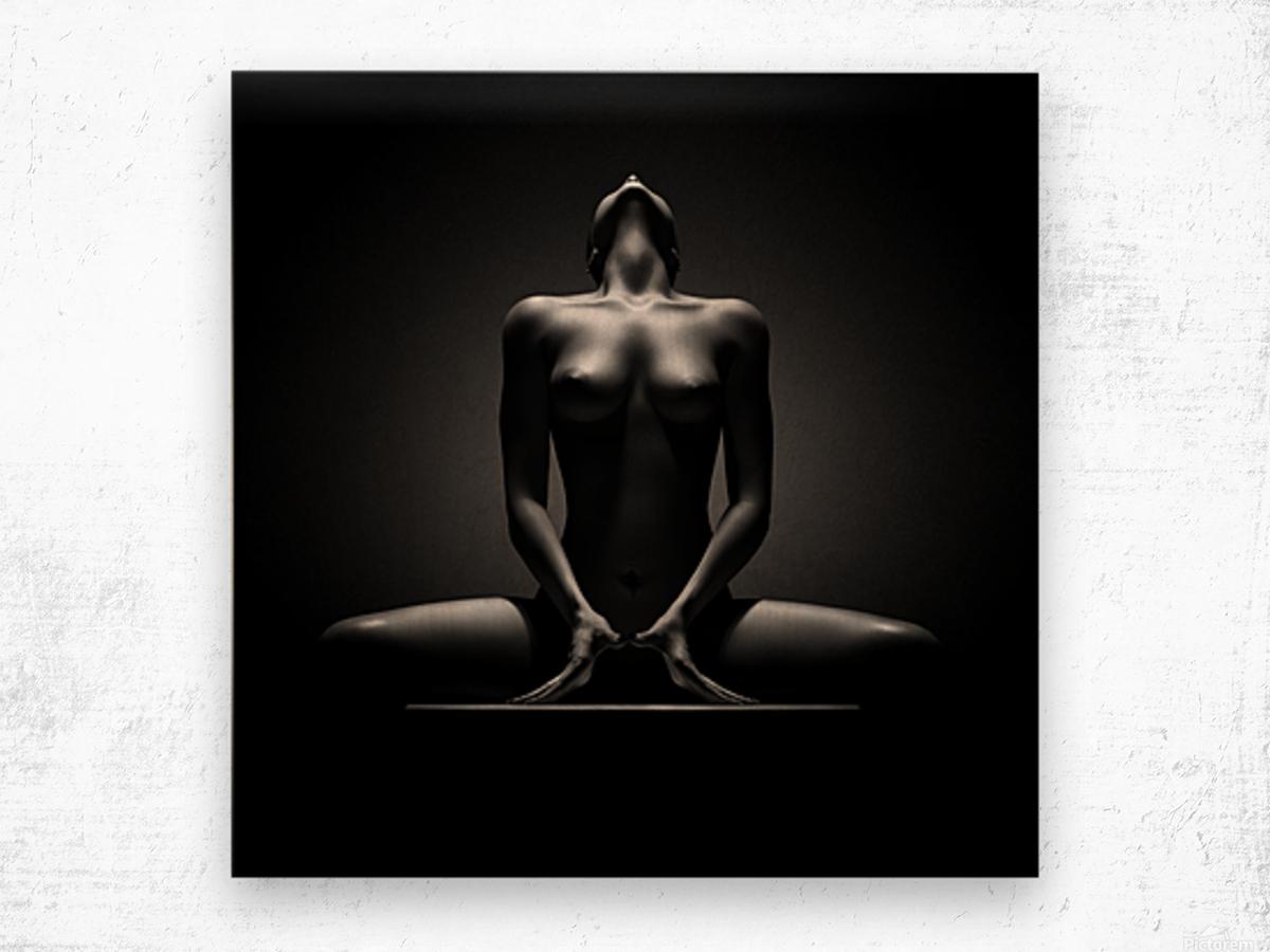 Nude woman fine art 23 Wood print