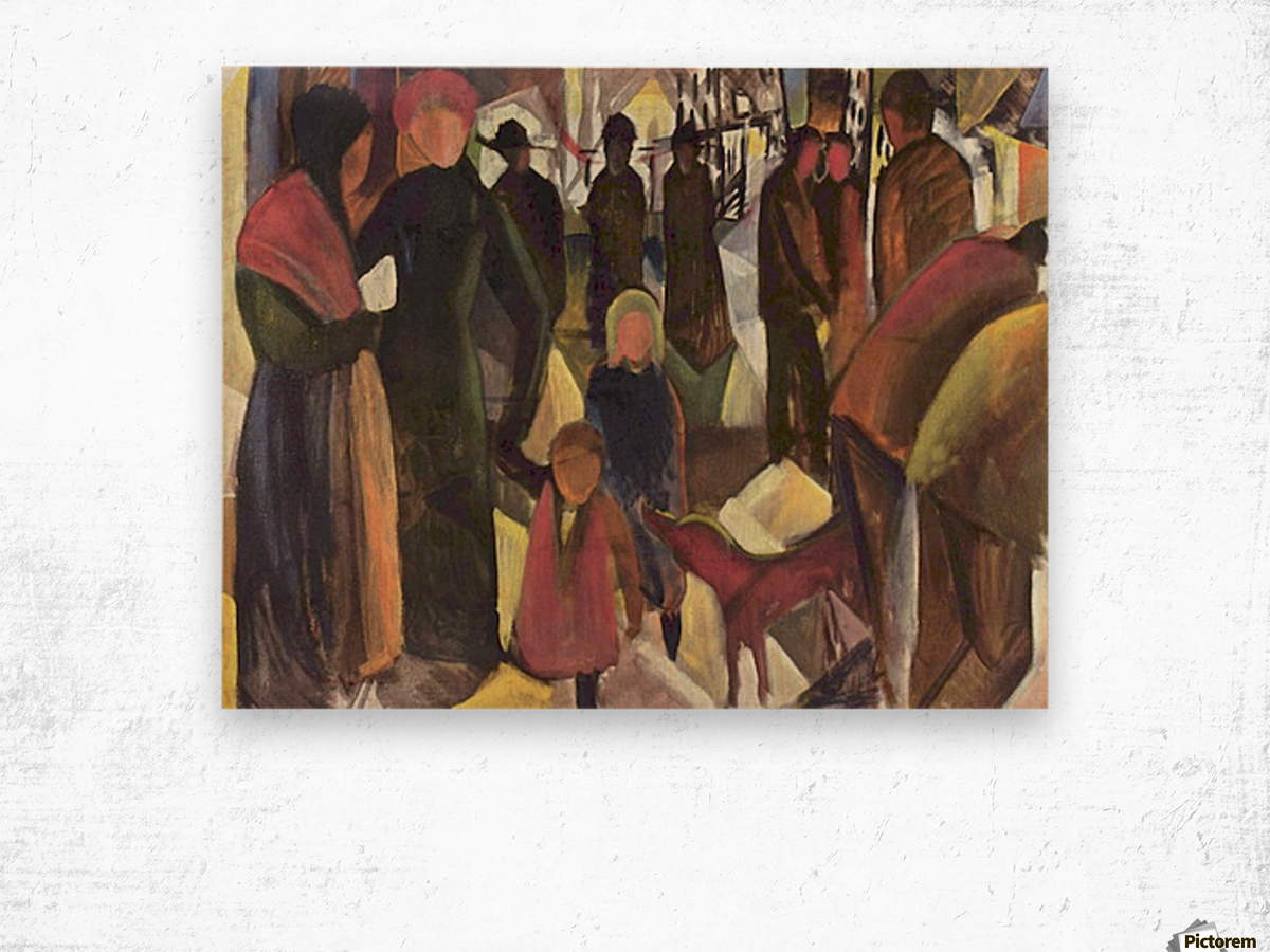 Resignation by Macke Wood print