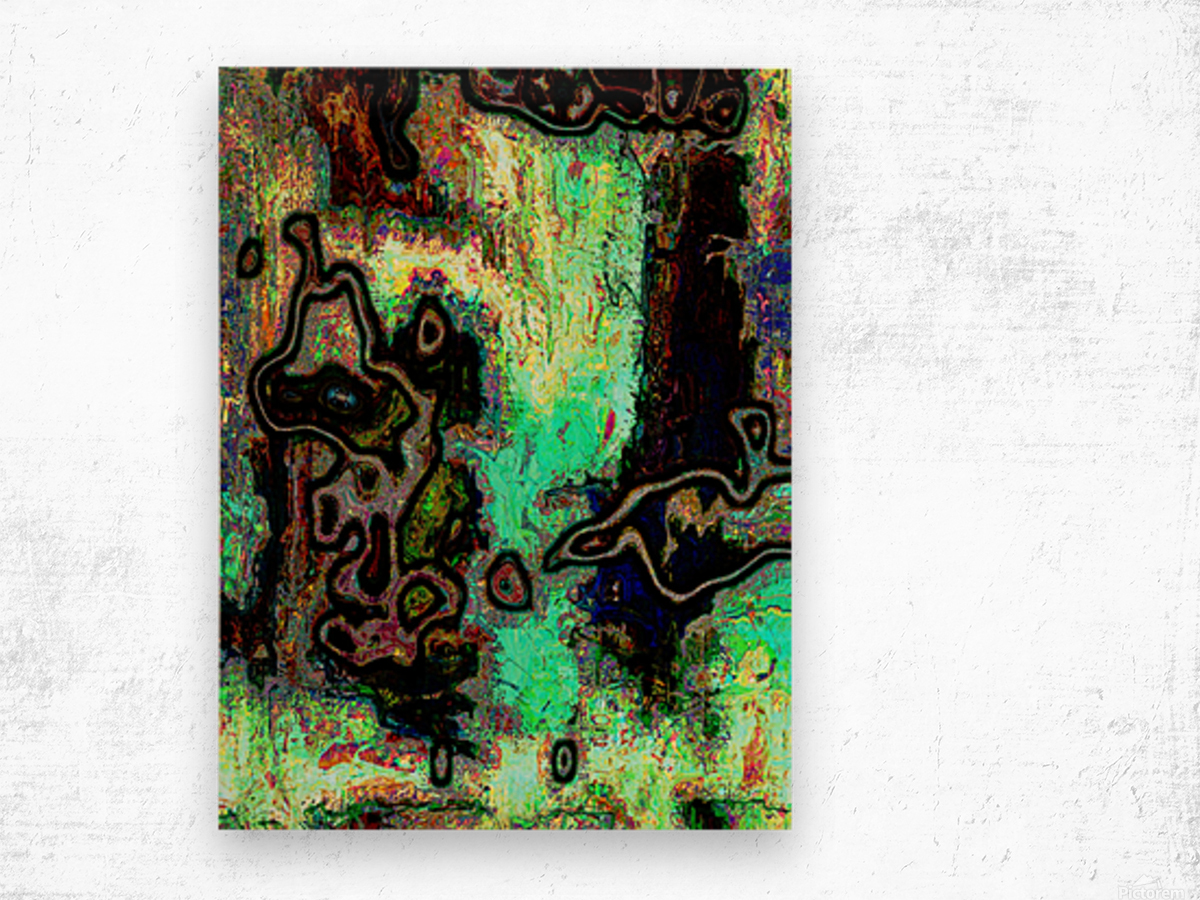 Mossi Wood print