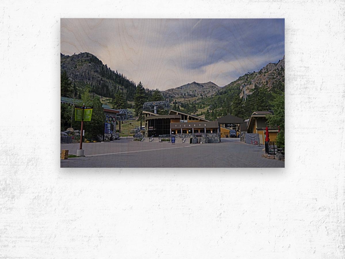 Spring at Lake Tahoe 3 of 7 Wood print