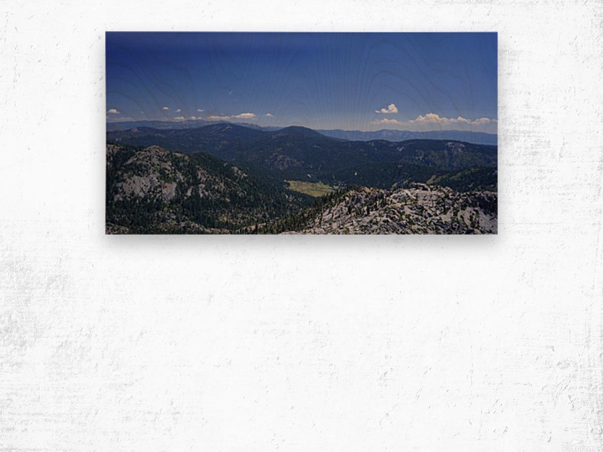 Sierra Nevada in Spring 1 of 8 Wood print