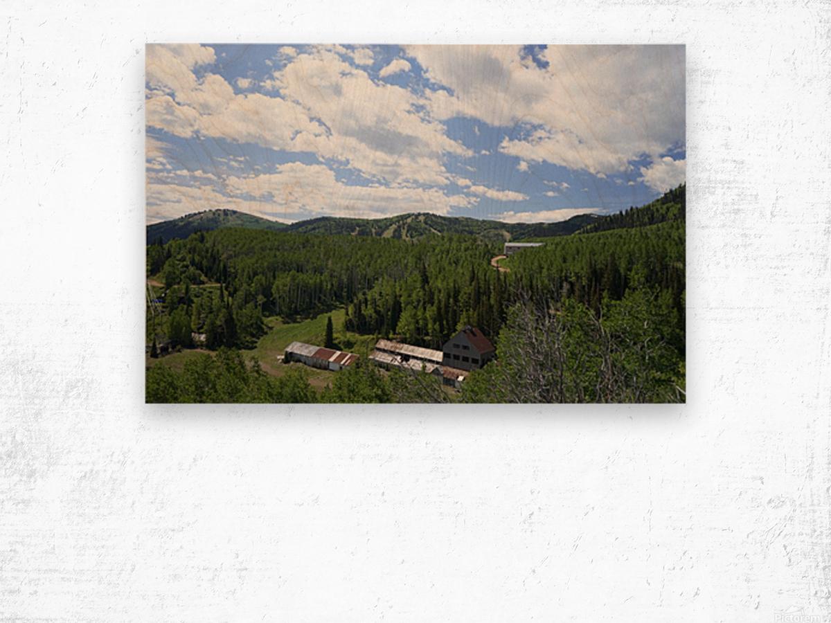 Back Country Utah 1 of 6 Wood print