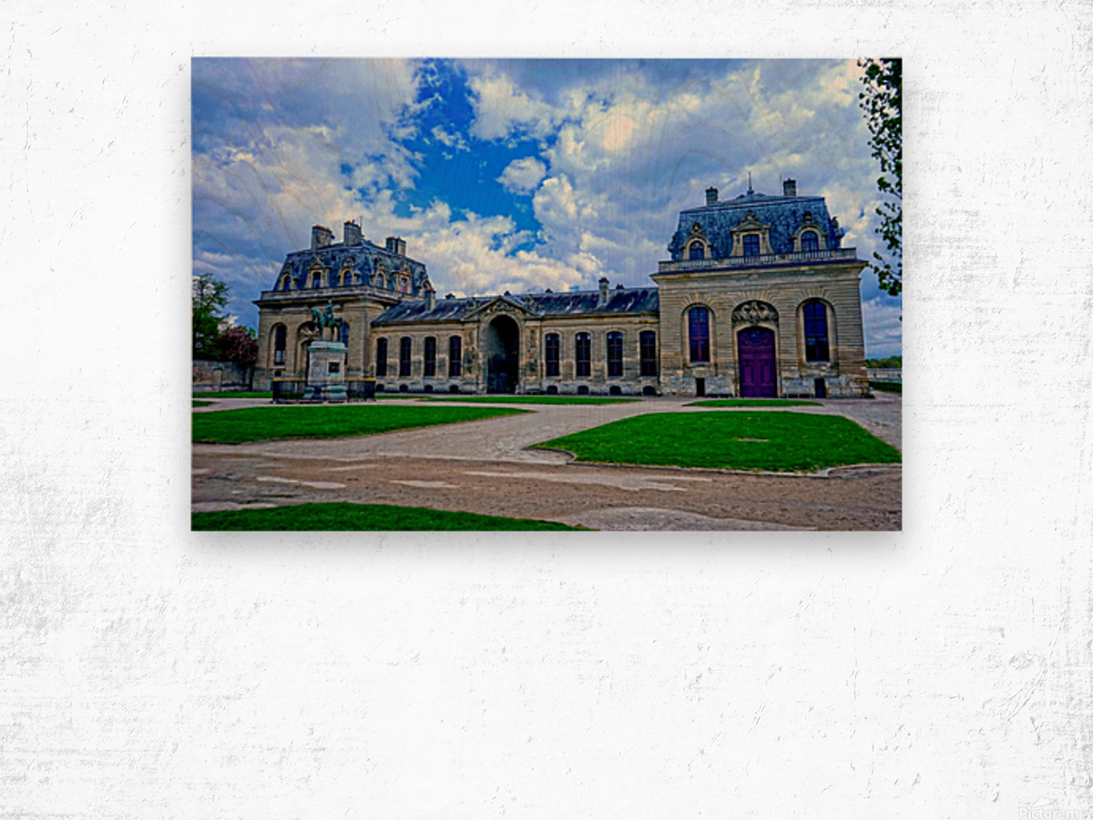Chateaus of France 7 Wood print