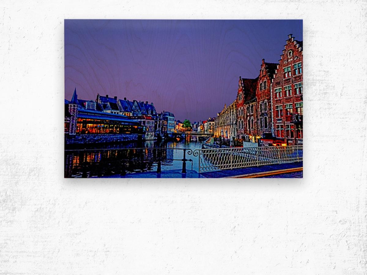 Wondrous Belgium Wood print