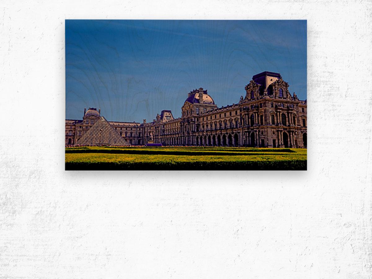 The Louvre Paris 1st Arrondissement Paris Wood print